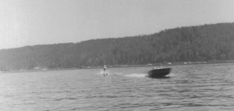 Waterskiing Behind an Ace on Hood Canal